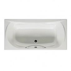 Ванна чугунная 170x85 Roca Akira 2325G000R, с отверстиями для ручки