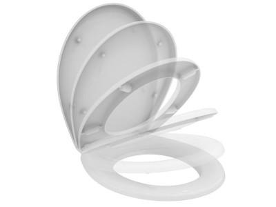 """""""СеваФреш/СеваДуо"""" сиденье для унитаза с микролифтом пластик, белый"""