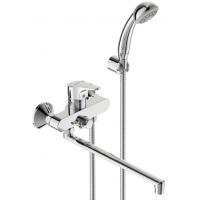 Видима Некст смеситель для ванны/душа, с керамическим переключателем, излив 320мм